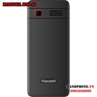 Masstel Big 40 Black Red Điện thoại cho người già