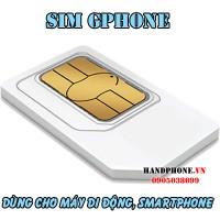 Sim trắng Gphone dùng cho máy di động, Smartphone