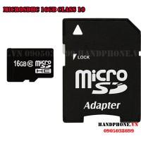 Thẻ nhớ MicroSDHC 16GB Class 10