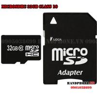 Thẻ nhớ MicroSDHC 32GB Class 10