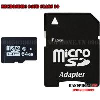 Thẻ nhớ MicroSDHC 64GB Class 10