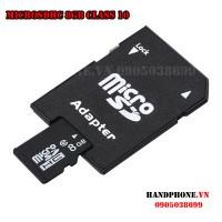 Thẻ nhớ MicroSDHC 8GB Class 10