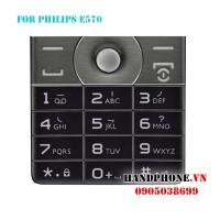 Bàn phím điện thoại Philips Xenium E570
