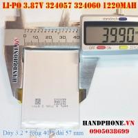 Pin Li-Po 3.87V 1220mAh 324057 324060 (Lithium Polymer)