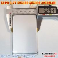 Pin Li-Po 3.7V 3950mAh 595490 585390 (Lithium Polymer)