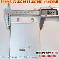 Pin Li-Po 3.7V 4950mAh 3279B1 3279111 (Lithium Polymer)