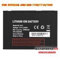 Pin W-5 cho bộ phát Wifi Netgear Sierra Aircard 770S/771S/782S/790S