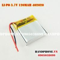 Pin Li-Po 3.7V 402020 120mAh