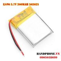Pin Li-Po 3.7V 502025 200mAh
