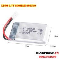 Pin Li-Po 3.7V 800mAh 902540 dòng xả cao 25C
