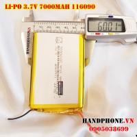 Pin Li-Po 3.7V 116090 7000mAh