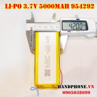 Pin Li-Po 3.7V 954292 5000mAh (Lithium Polymer)