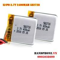 Pin Li-Po 3.7V 582728 400mAh
