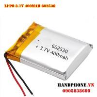 Pin Li-Po 3.7V 602530 400mAh