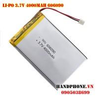 Pin Li-Po 3.7V 606090 4000mAh