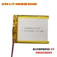 Pin Li-Po 3.7V 805060 3000mAh