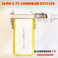 Pin Li-Po 3.7V 9373129 10000mAh (Lithium Polymer)
