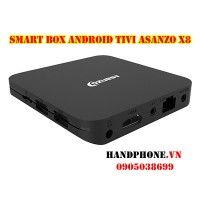Smart Box Android Tivi ASANZO X8 4K HDR RAM2GB/16GB